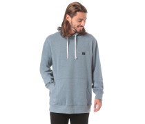 Kapuzenpullover 'All Day' taubenblau