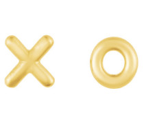 XO Ohrstecker gold