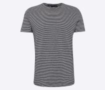 T-Shirt 'marius' hellgrau / dunkelgrau