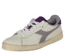 Sneaker 'game L LOW Used' grau / weiß