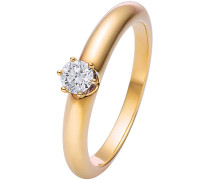 Diamonds Ring '87016498' gold / weiß