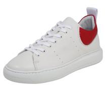 Sneaker 'Elvi' rot / weiß