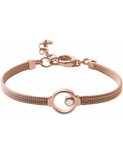 Armband 'Elin' rosegold / weiß