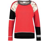 Pullover mischfarben / hellrot / schwarz