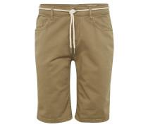 Shorts 'dnm Washcolored' oliv