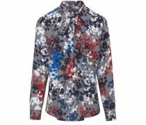 Bluse graumeliert / mischfarben