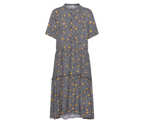 Kleid 'Leia' gelb / schwarz