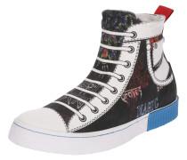 Sneaker 'imaginee MID ON' blau / schwarz