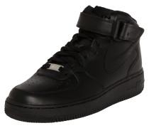 Sneaker 'Air Force Mid' schwarz
