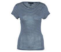 T-Shirt 'stripe Slinky' marine / hellgrau