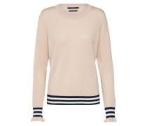 Pullover rosa / schwarz