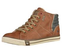 Sneaker blau / kastanienbraun
