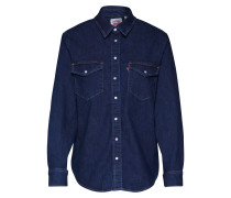 Hemd 'Essential Western' blue denim