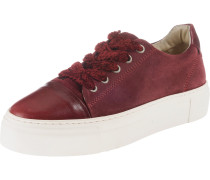 Sneakers Low weinrot