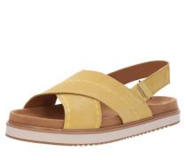 Sandale 'marisa' gelb