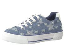 Sneakers blau / weiß