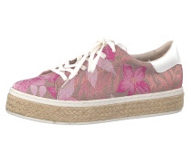 Sneakers Low braun / rosa