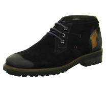 Chukka Boots kobaltblau / hellbraun
