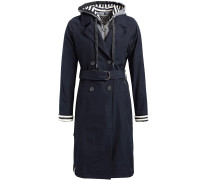 Mantel 'judita' navy / graumeliert