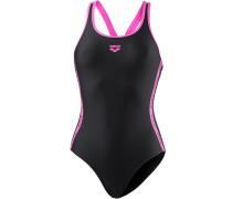 'Hyper' Badeanzug pink / schwarz