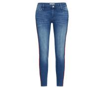 Skinny Jeans 'Midi Red Stripe'