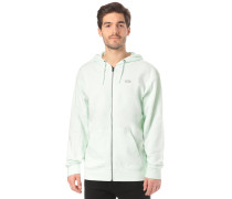 Kapuzenjacke 'Core Basics' mint