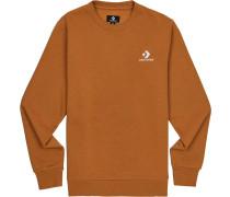 Sweater ' Star Chevron ' hellbraun / weiß