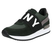 Sneaker 'marli' grün / schwarz