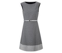 Kleid weiß / marine
