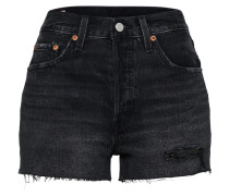 Jeans Shorts '501 High Rise' schwarz