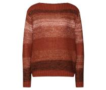 Pullover mischfarben / rostrot