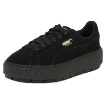 Sneaker 'Platform Trace' schwarz