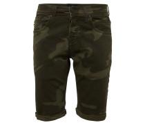 Jeans 'corvin' oliv / dunkelgrün