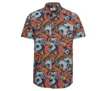 Hemd 'Psychedelic Floral Shirt' mischfarben