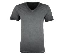 V-Neck-Shirt dunkelgrau