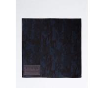 Schal ultramarinblau / dunkelblau