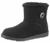 Snowboots schwarz / silber