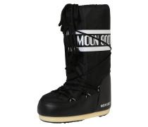 Snowboots 'Nylon' schwarz