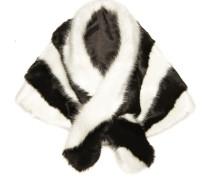 Stola schwarz / weiß