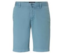 Chino-Shorts 'Salo' taubenblau
