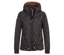 Jacket 'Gleitgelzeit' braun / dunkelbraun