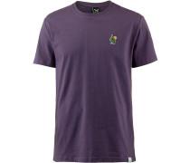T-Shirt dunkellila