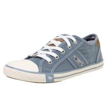 Sneaker im Canvas-Style hellblau / weiß