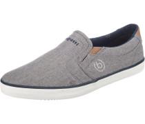 Slip-On-Sneaker graumeliert