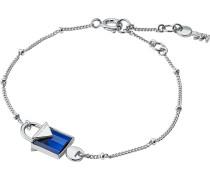 Armband blau / silber