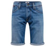 Jeansshorts 'ronnie' blue denim