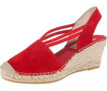 Sandaletten rot