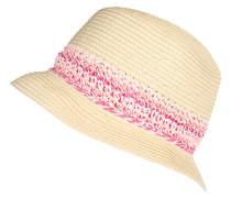 Hut 'CrochStrpTrillb' beige / pink