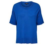 Strickshirt blau
