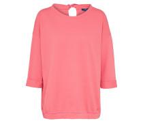 Strukturiertes Shirt rosa